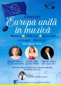 Europa Unita in muzica mic