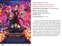 08-10 noiembrie Salma si Misterul Cartii Magice